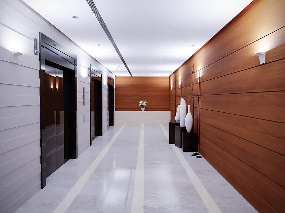 FIN elevator