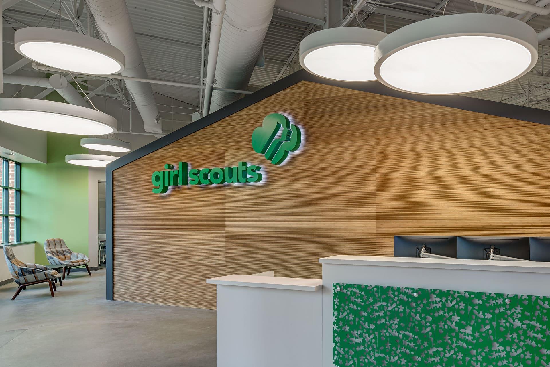 Girl Scouts of Southeastern Michigan Corporate - Davis & Davis Interior Design