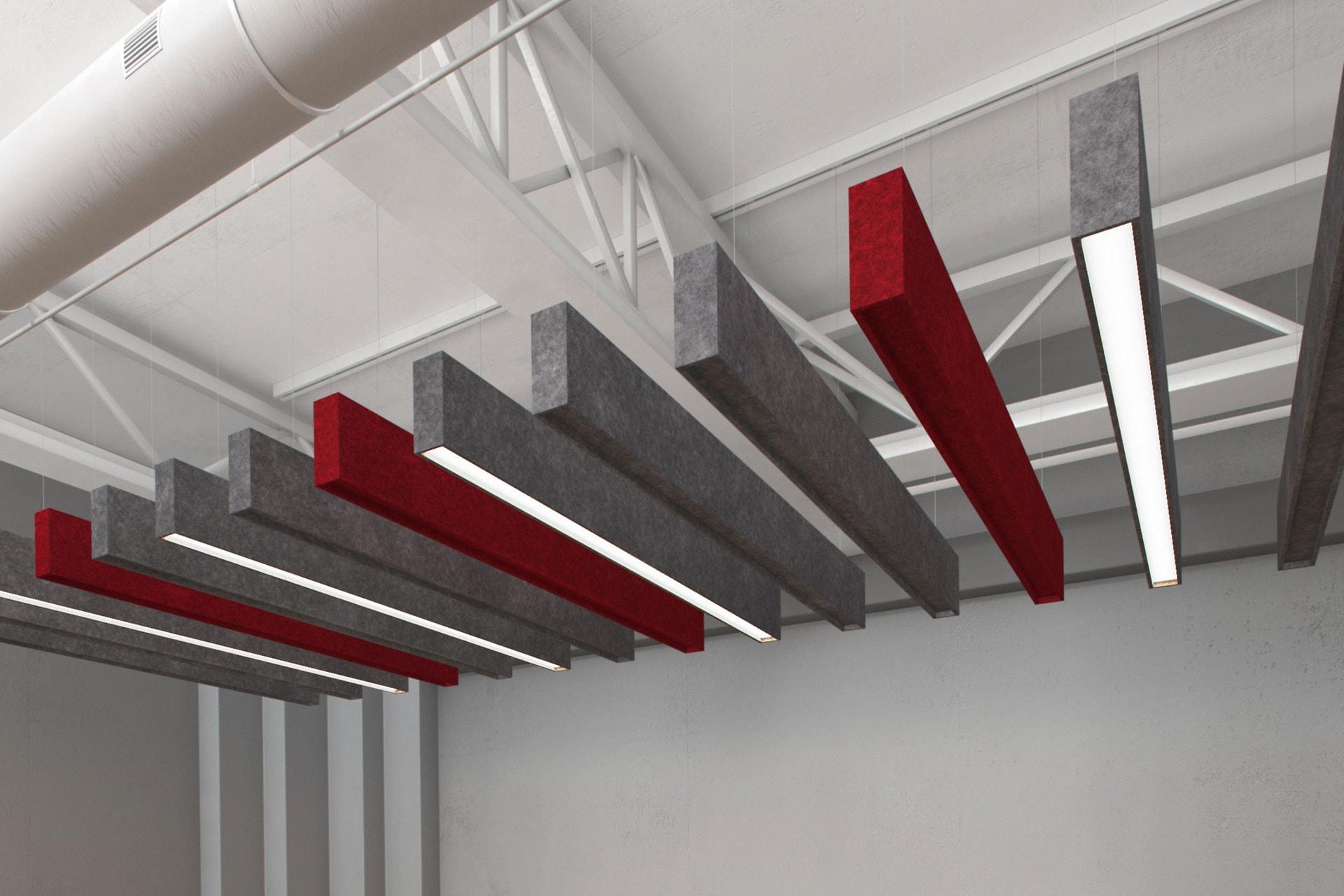LS STFU Acoustic Luminaires